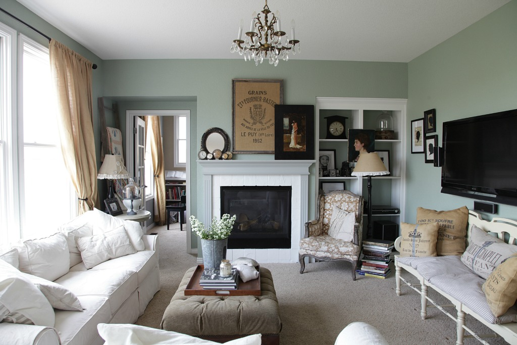 Living room redo shop my own house jeanne oliver - How to redo a living room under 100 ...