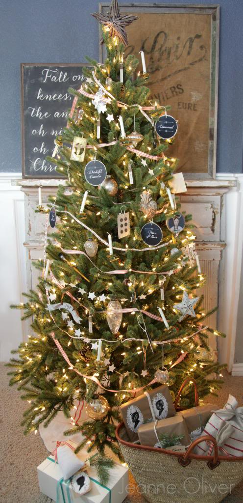 vintage christmas tree with balsam hill