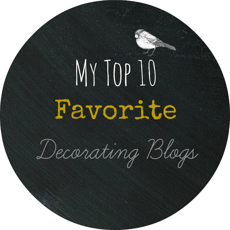 My Top Ten Favorite Decorating Blogs - Jeanne Oliver