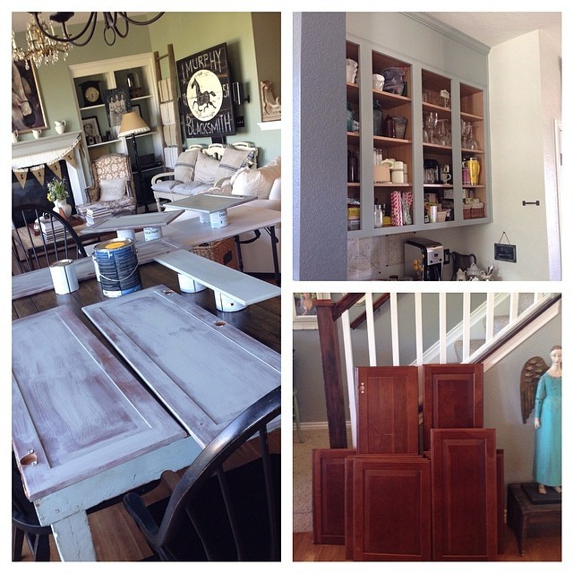 Step By Step Kitchen Cabinet Painting With Annie Sloan Chalk Paint   Jeanne  Oliver