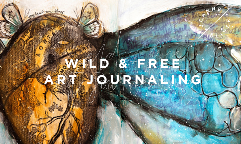 Wild and Free Art Journaling course image