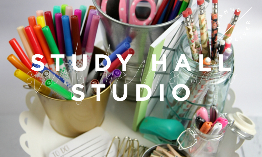 Study Hall Studio: Back to School DIY course image