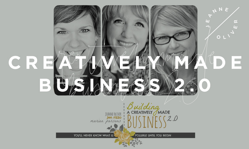 Building a Creatively Made Business 2.0 course image