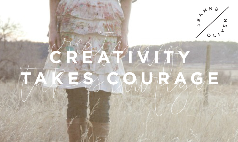 Creativity Takes Courage | Interviews with Courageous Friends course image