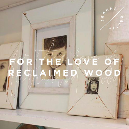 For the Love of Reclaimed Wood course image