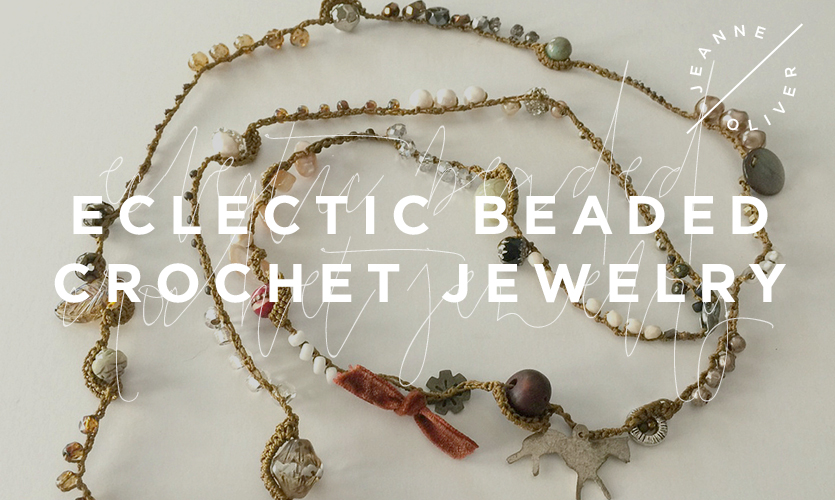Eclectic Beaded Crochet Jewelry course image