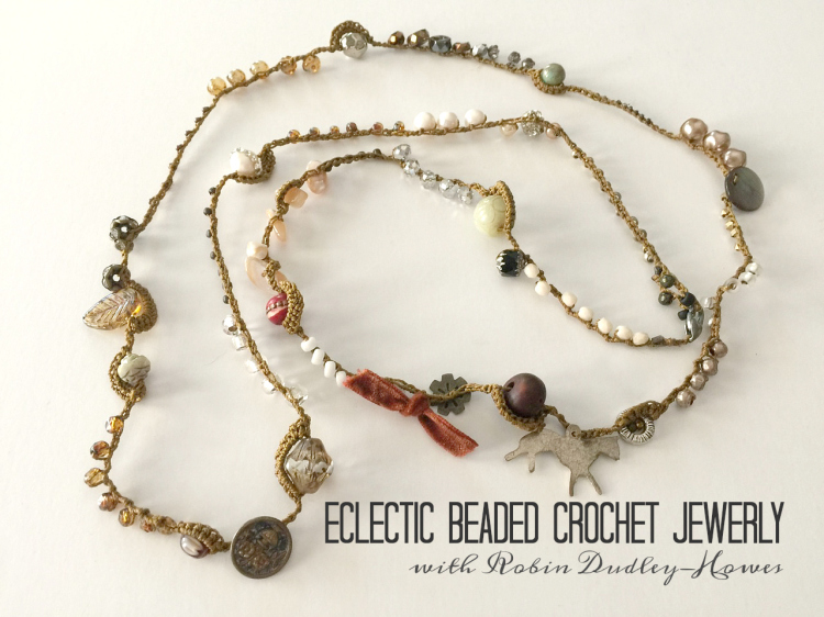 Eclectic Beaded Crochet Jewelry Jeanne Oliver