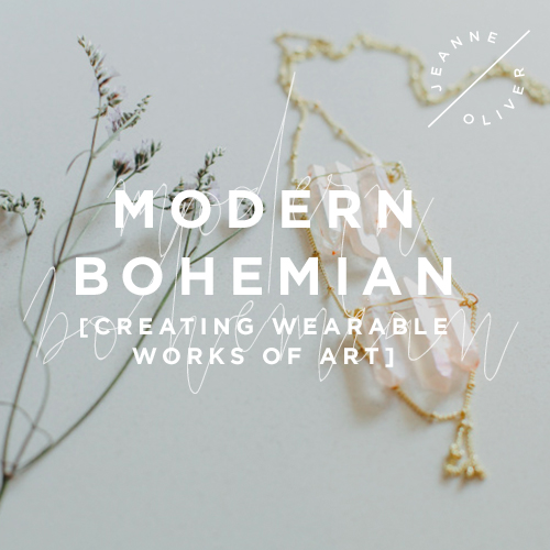 Modern Bohemian: Creating Wearable Works of Art course image
