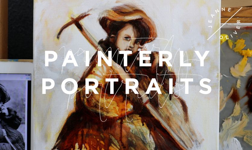 Painterly Portraits: A Study In Acrylics and Oils course image