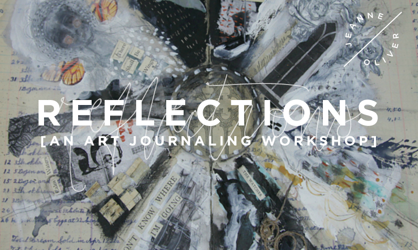 Reflections: An Art Journaling Workshop course image