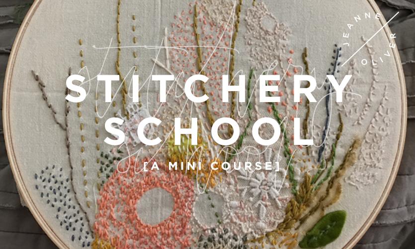 Stitchery School: A Mini Course course image