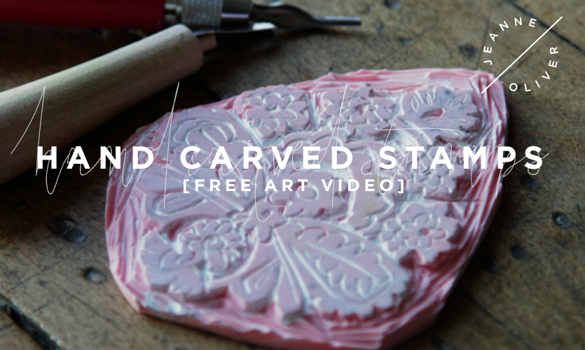 Free Art Video: Hand Carved Stamps course image