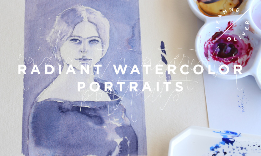Radiant Watercolor Portraits