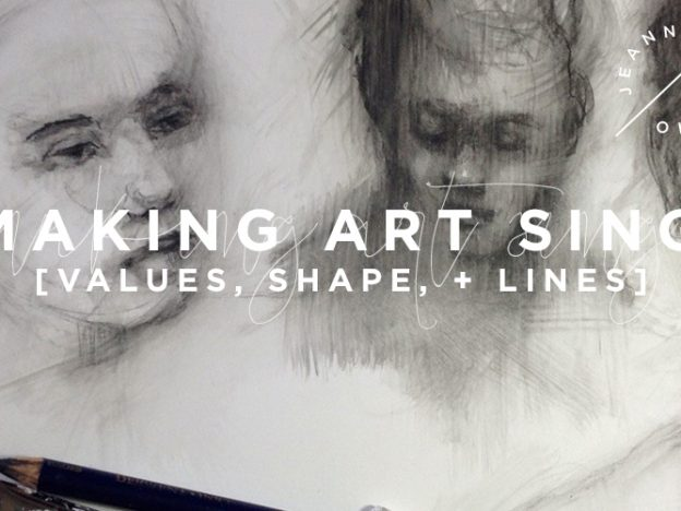 Making Art Sing: Values, Shape and Lines course image