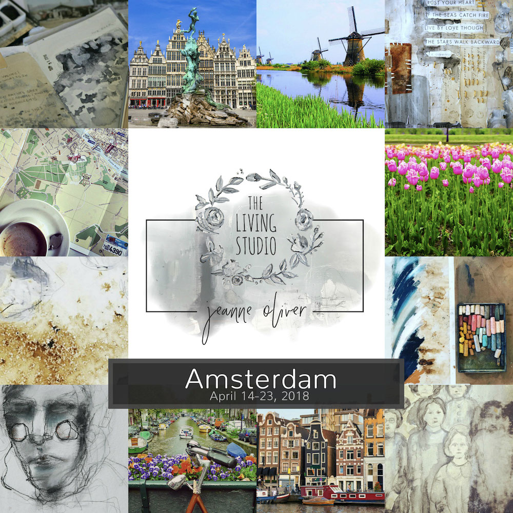Amsterdam Living Studio with Jeanne Oliver