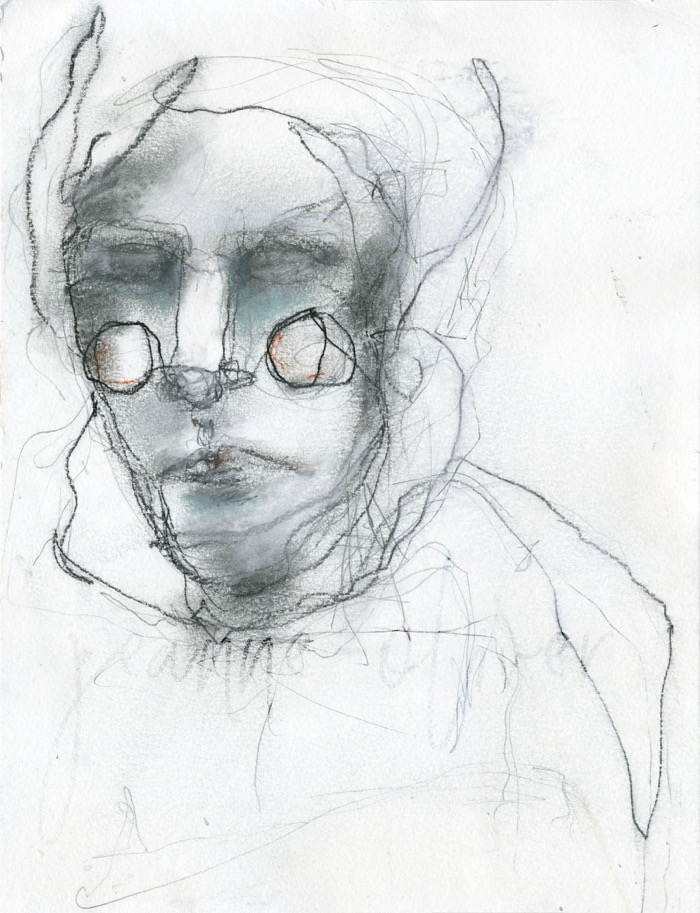 Contour-Sketch by Jeanne Oliver