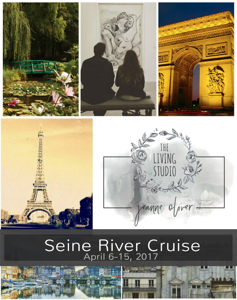 Seine River Cruise with Jeanne Oliver