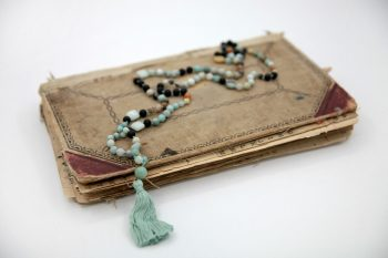 Amazonite Prayer Necklace