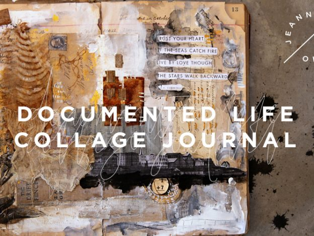 Free Art Video: Documented Life Collage Journal course image