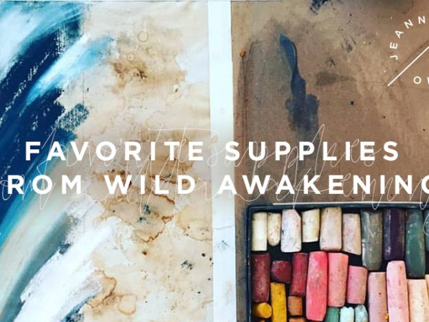 Free Art Video: Favorite Supplies from Wild Awakening course image