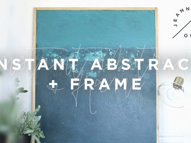 Instant Abstract + Frame | A Mini Course course image