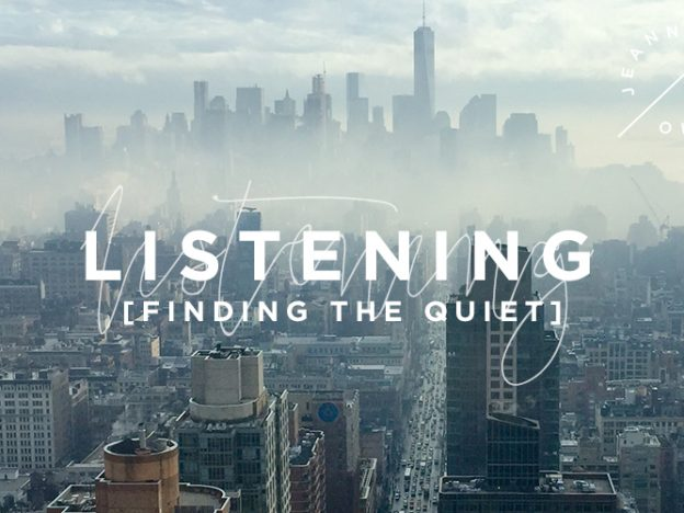 Listening: Finding the Quiet course image