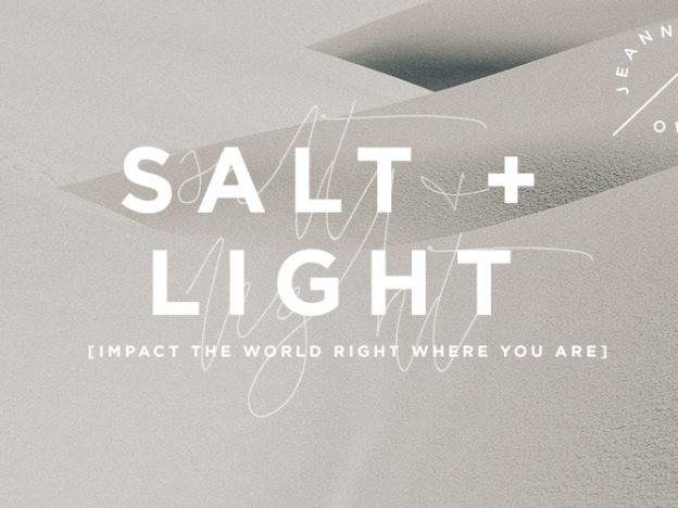 Salt + Light: Impact the World Right Where You Are course image