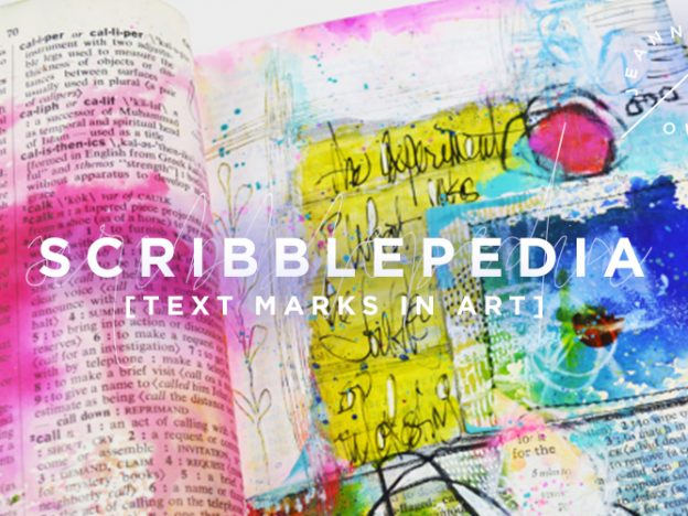 Scribblepedia | Text Marks In Art course image