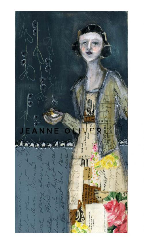 She Walks In Beauty by Jeanne Oliver