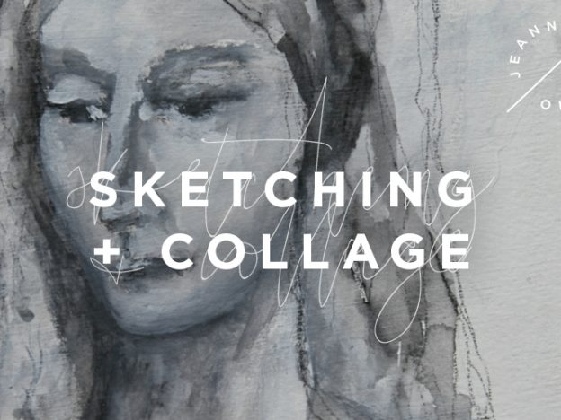 Sketching and Collage: A Mini Course course image