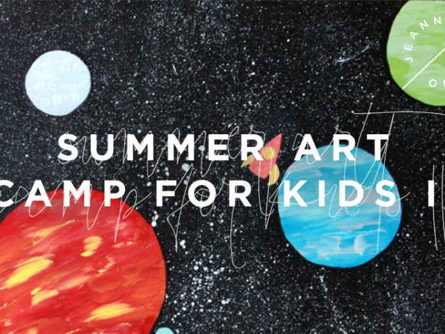 Summer Art Camp For Kids II course image