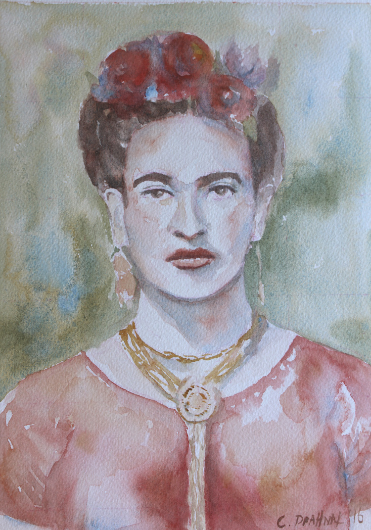 Radiant Watercolor Portraits Jeanne Oliver