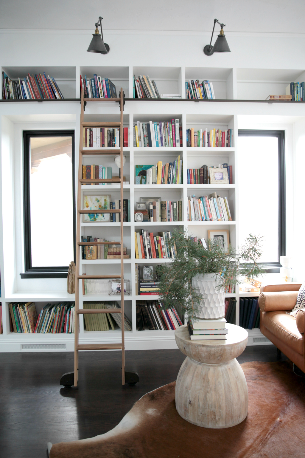Mid Century Modern Library Seasons Of Home Holiday