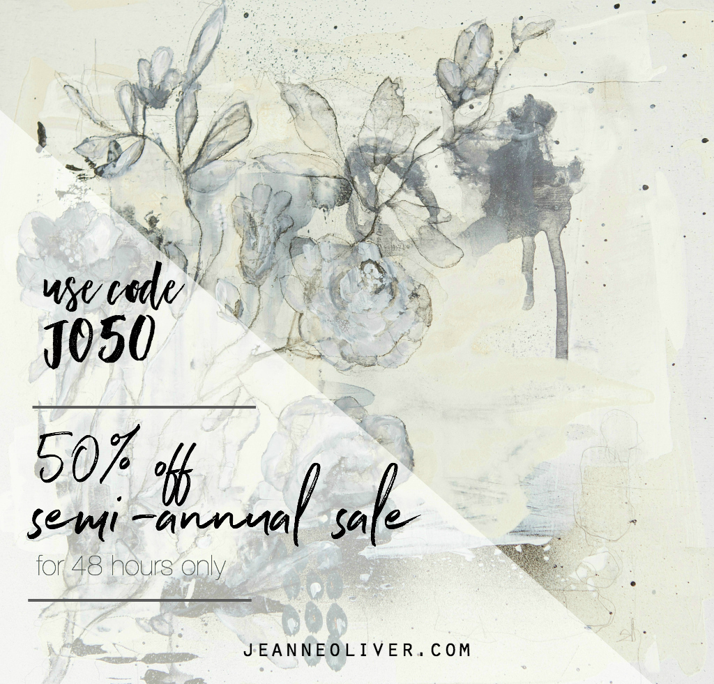 Semi Annual 50 off Sale
