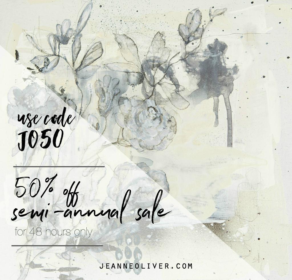 Semi Annual 50 off Sale