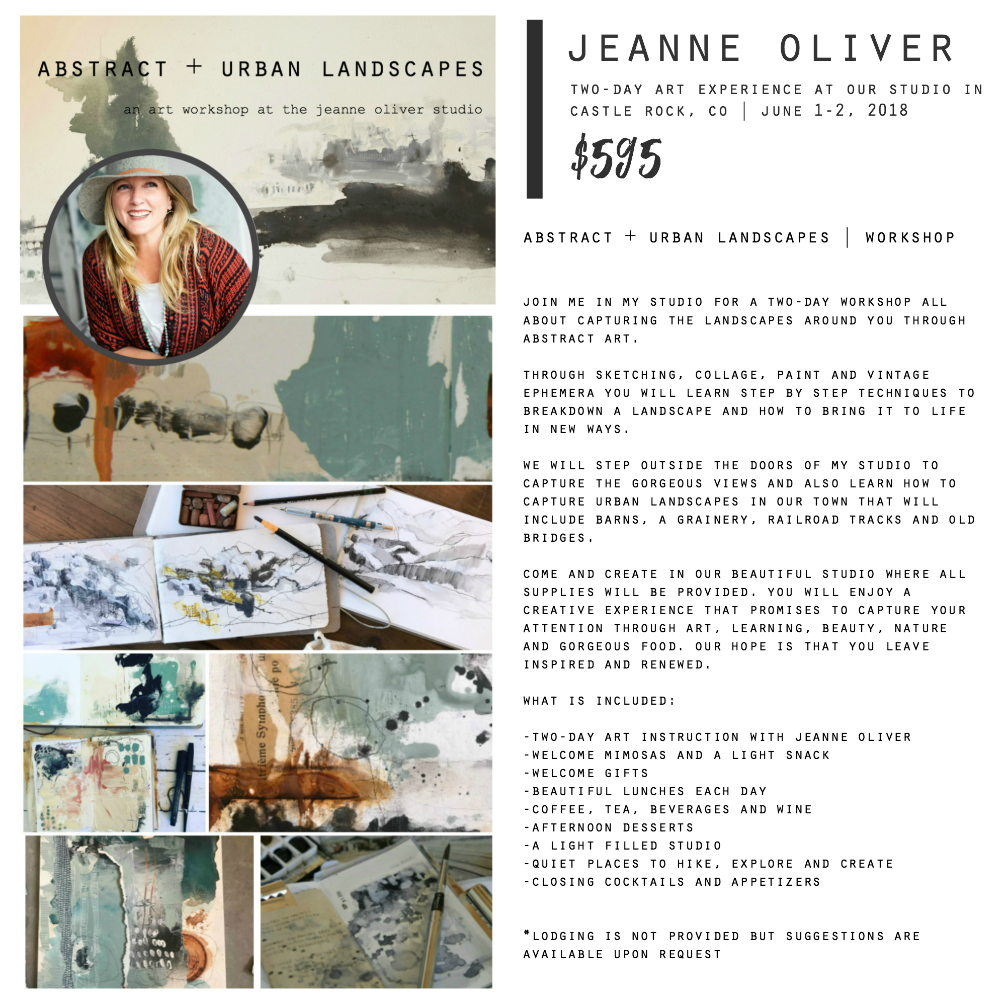 Abstract + Urban Landscapes with Jeanne Oliver