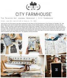 Workshop at City Farmhouse in Franklin, TN