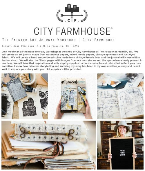 Workshop at City Farmhouse in Franklin, TN
