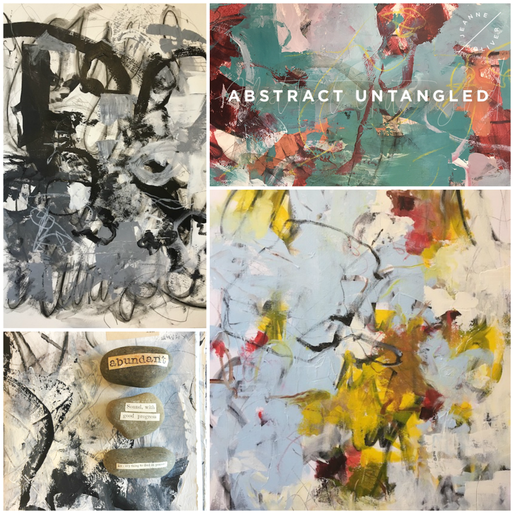 Abstract Untangled Course Collage