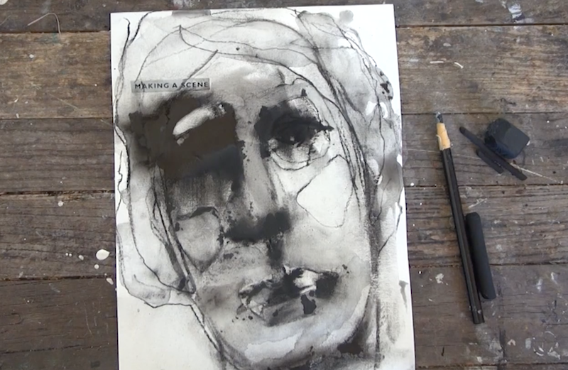 Exercises With Charcoal with Jeanne Oliver