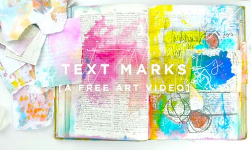 Free-Art-Video-TEXT-MARKS