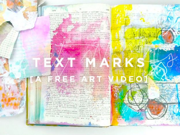 Free Art Video: Text Marks course image