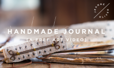 Handmade Journal with Jeanne Oliver