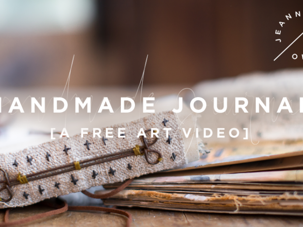 Free Art Video: Handmade Journal course image
