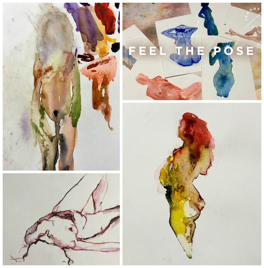 Feel The Pose Collage