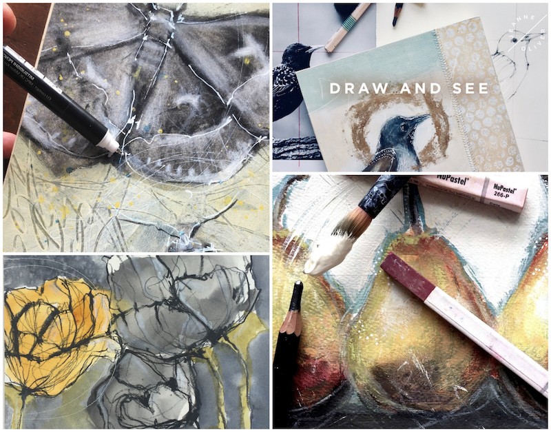 Draw and See Collage with Rebecca Sower