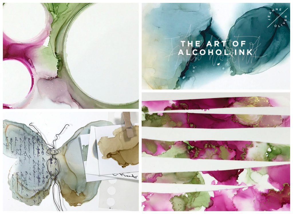 The Art of Alcohol Ink Collage
