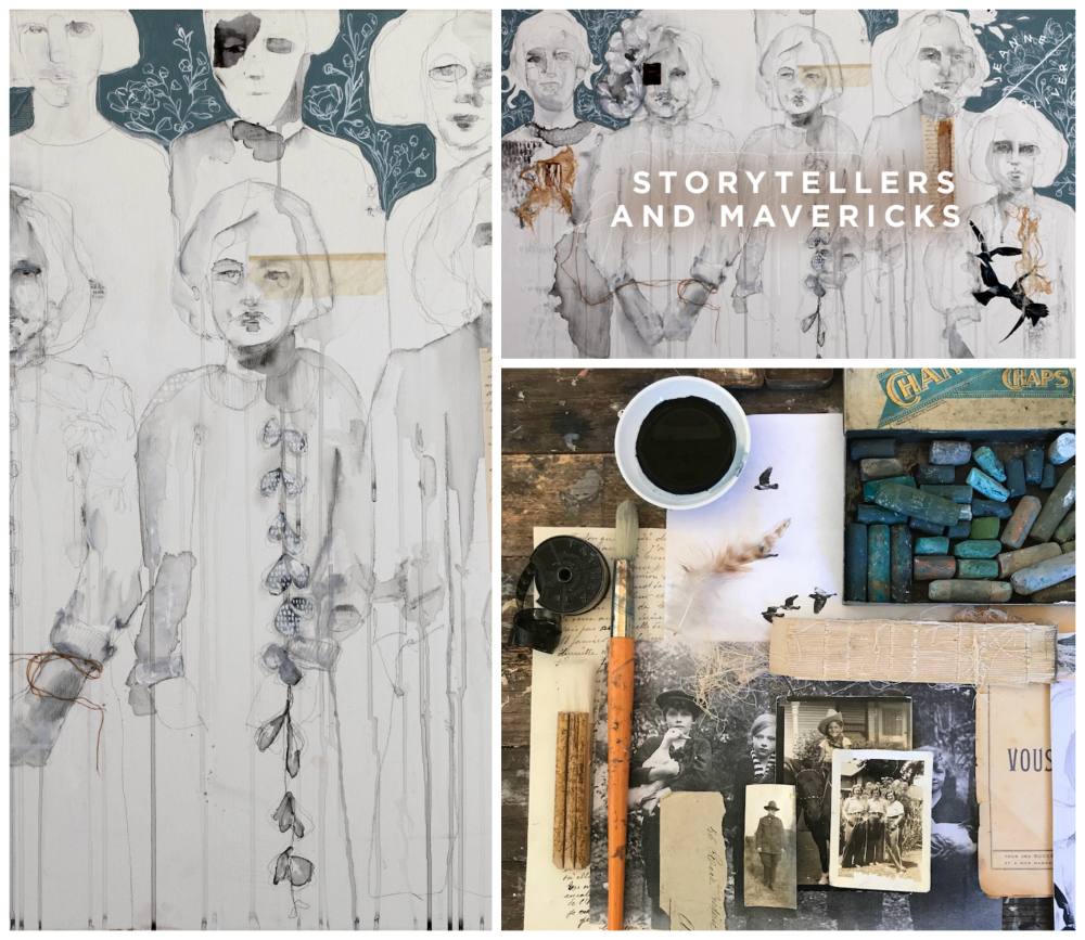 Storytellers and Mavericks Collage