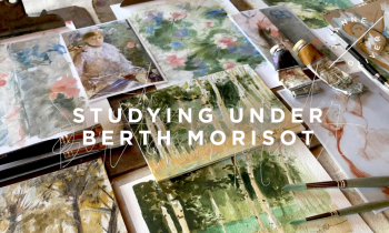 Studying Under Berthe Morisot Featured
