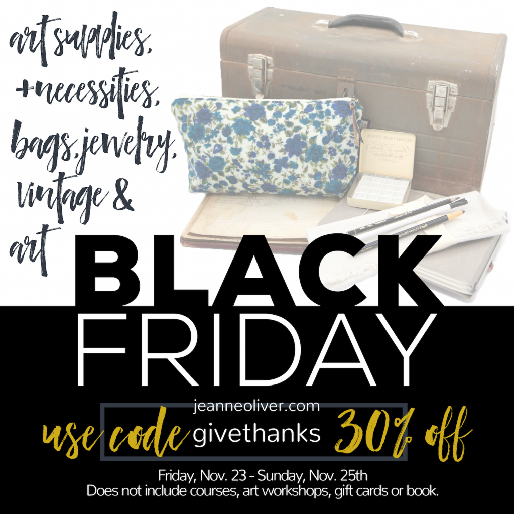 Black Friday Jeanne Oliver